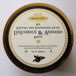 Liquroice & aniseed