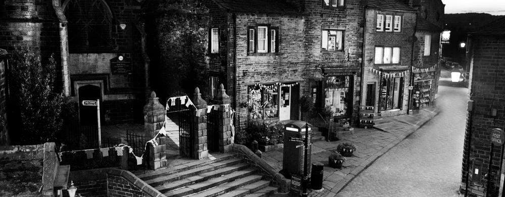 Main street in the evening - Mark davies