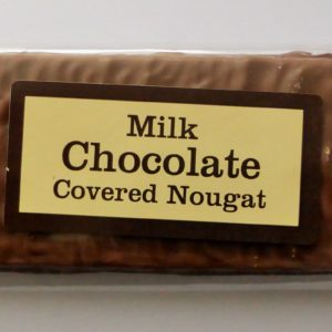 Choc covered nougat - 1