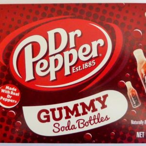 Dr Pepper soda bottles