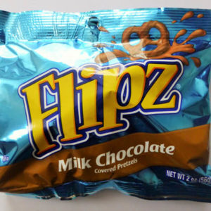 Flipz - milk choc