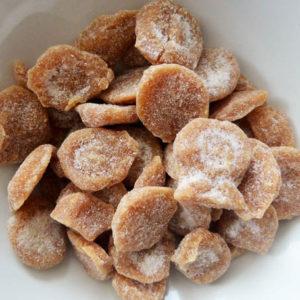 Marzipan teacake sweets
