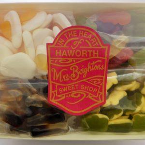 Mini gummy box