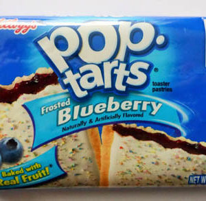 Pop tarts - blueberry