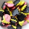 Raspberry & lemon liquorice