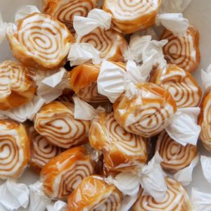Toffee whirls