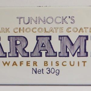 Tunnocks wafer tin - dark chocolate