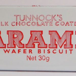 Tunnocks wafer tin - milk chocolate