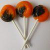 Chocolate orange lollipop