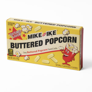 Mike and ike buttered popcorn sweets