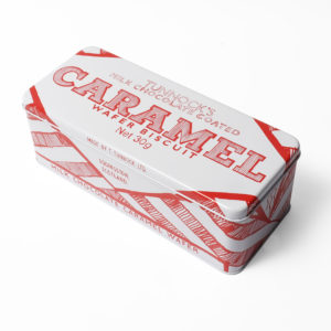 Tunnocks milk tin