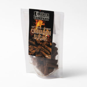 Cinnamon sugar liquorice