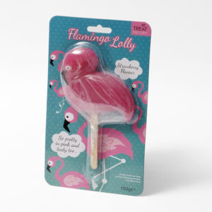 Flamingo lollipop