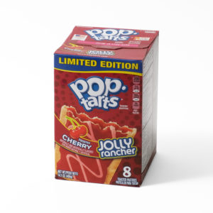 Cherry jolly rancher pop tarts