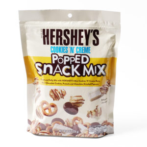 Hersheys popped snack mix