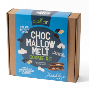 Chocolate mallow cookie kit