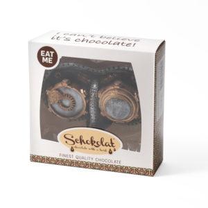 Chocolate steampunk goggles
