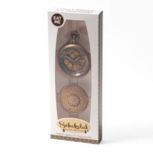 Chocolate pocket watch