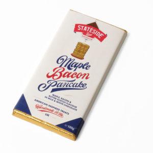 Bacon pancake chocolate