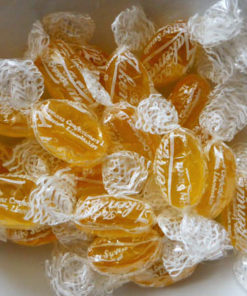 Honey and lemon sweets