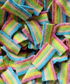 Rainbow bite sweets