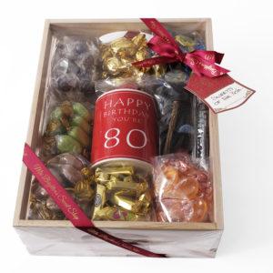 80th Birthday Hamper Mrs Beightons Sweet Shop