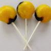 Banana split lollipop