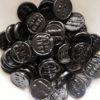 Liquorice hard coin