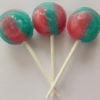 Candy floss lollipop
