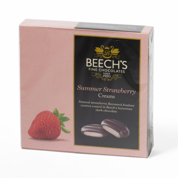 Strawberry chocolate creams