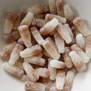 Fizzy cola bottle sweets