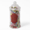 Jar of fizzy sweets