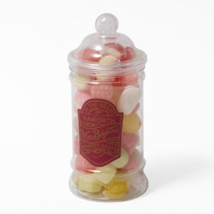 Jar of hard boiled sweets