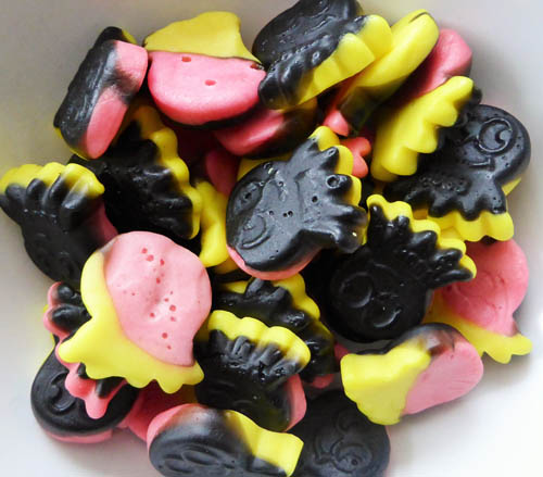 Raspberry & lemon liquorice