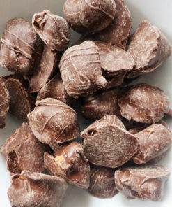 Milk chocolate toffee rolls