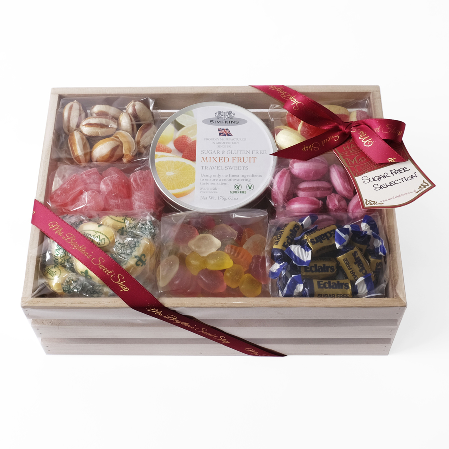Sugar free collection mrs beightons sweet shop sugar free sweet hamper negle Images