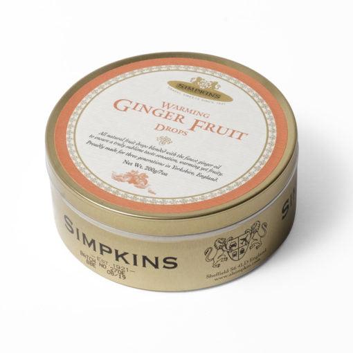 Ginger sweet tin