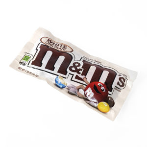 White chocolate M&M