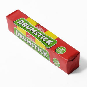 Drumstick chew sweets