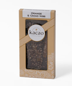 Orange and cacao chocolate