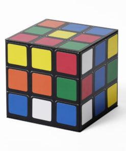 Rubix cube tin
