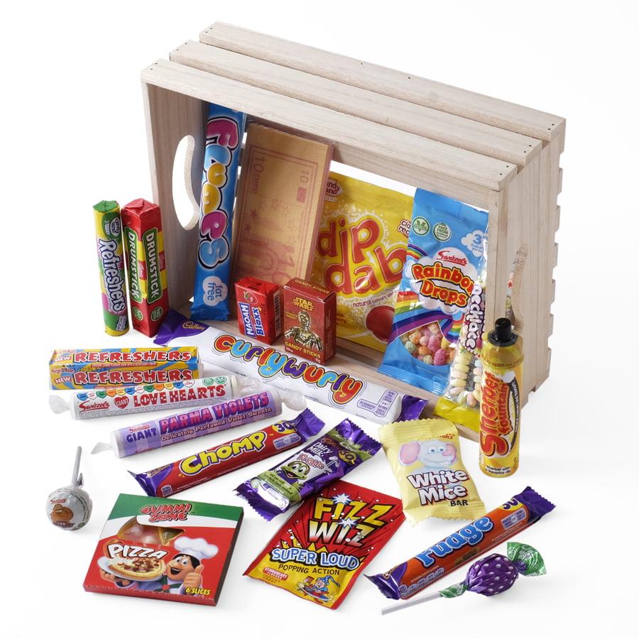 Retro Sweets Hamper Mrs Beightons Sweet Shop