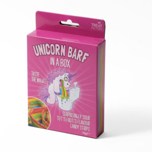 Unicorn barf sweets
