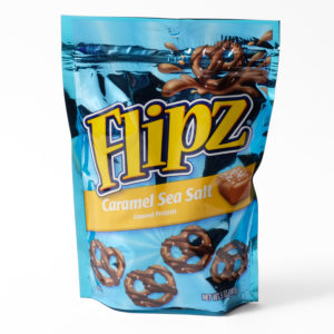 Salted caramel pretzels