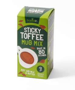 Sticky toffee mug mix