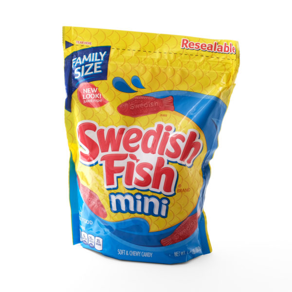 American swedish fish sweets