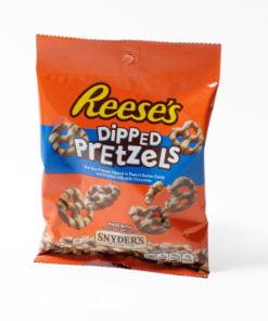 Reeses chocolate pretzels