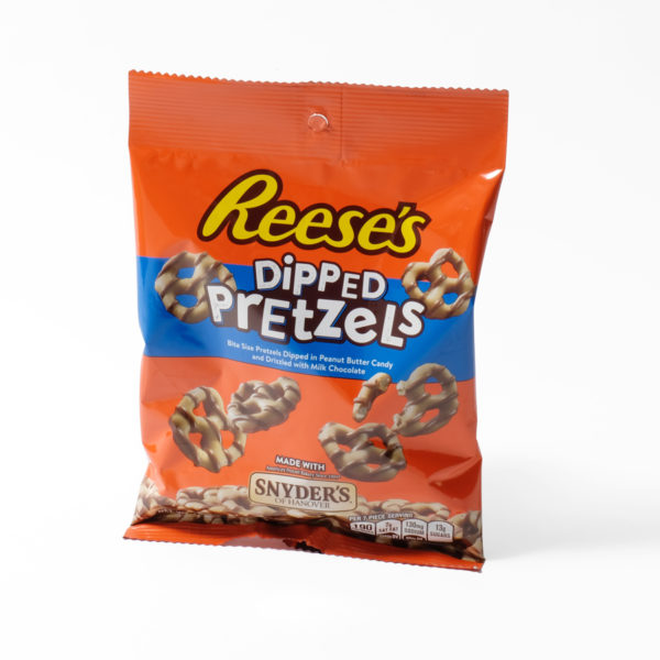 Reeses chocolate pretzels