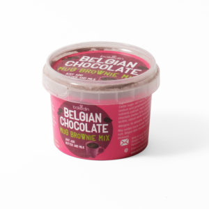 Chocolate brownie mug mix