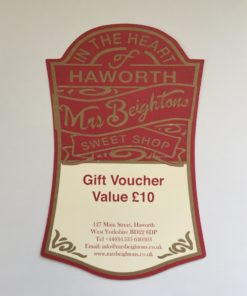 i£10 gift voucher for sweets